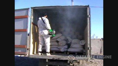 Проведение работ по дезинфекции автотранспорта